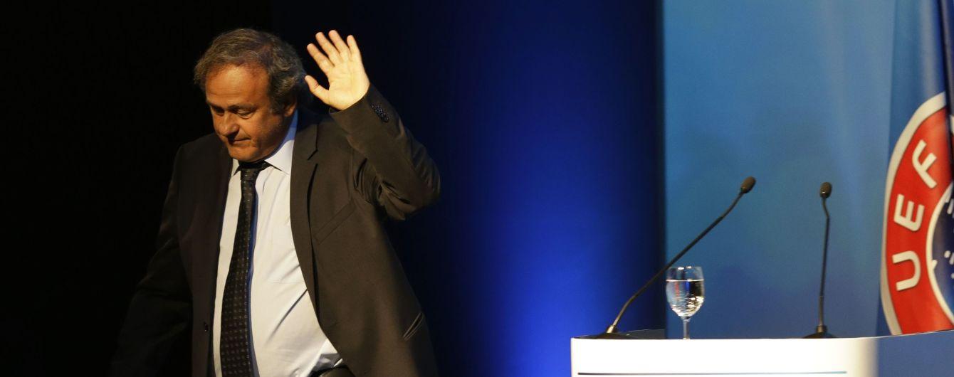 Платіні вимагає від УЄФА понад 7 мільйонів євро