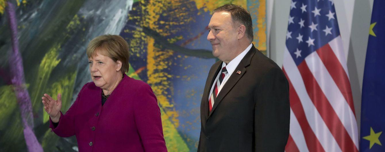 """Держсекретар США розкритикував Німеччину за """"Північний потік-2"""""""