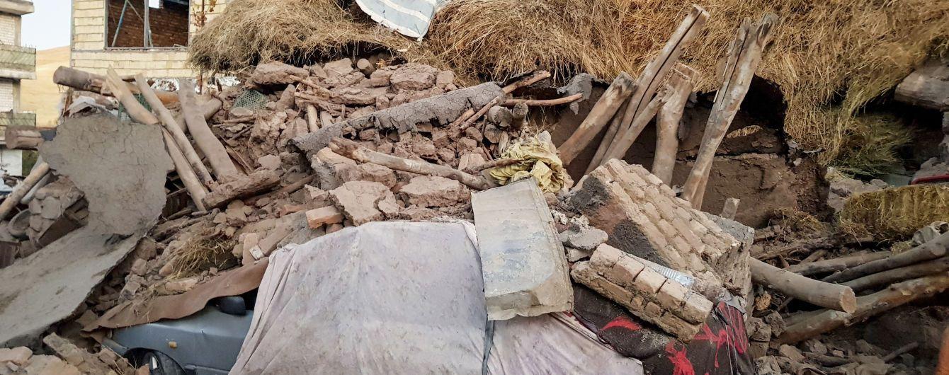 В Ірані внаслідок потужного землетрусу загинули 5 людей, 330 отримали поранення