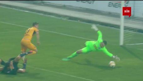 Десна – Дніпро-1 - 0:1. Відео голу Шаповала