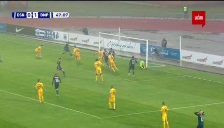 Десна – Дніпро-1 - 1:1. Відео голу Хльобаса