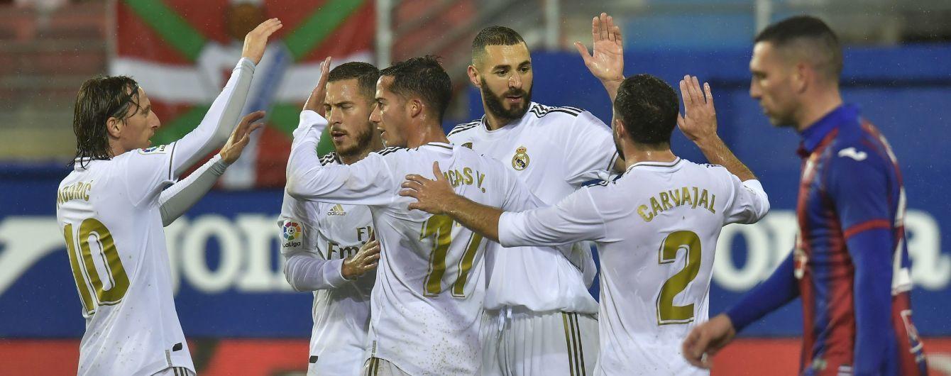 """""""Реал"""" нанес сокрушительное поражение """"Ейбару"""" и поднялся на вершину Ла Лиги"""