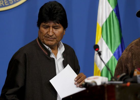 Мексика предоставила убежище подавшему в отставку президенту Боливии