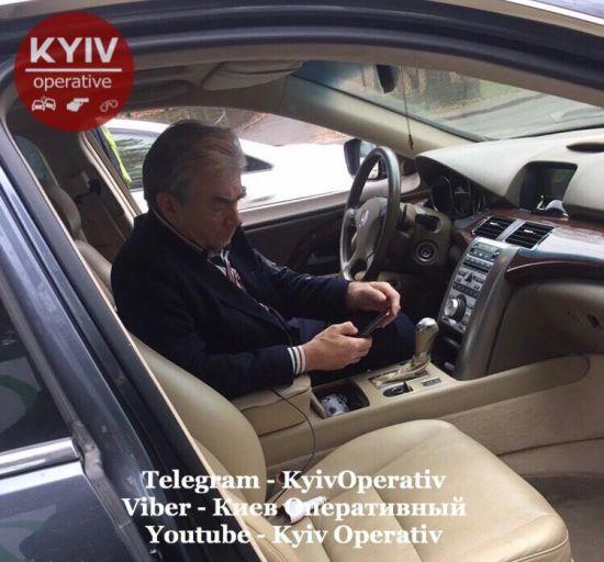 У Києві поліція зупинила автомобіль з п'яним дипломатом