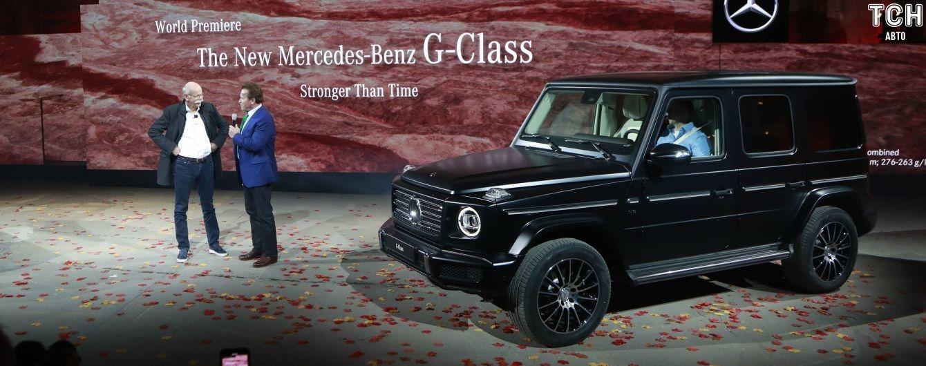 """Mercedes планує випустити культовий G-класс """"Гелік"""" на електриці"""
