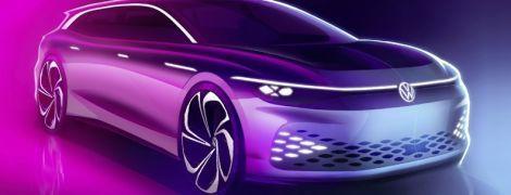 Volkswagen впервые показал электрический универсал