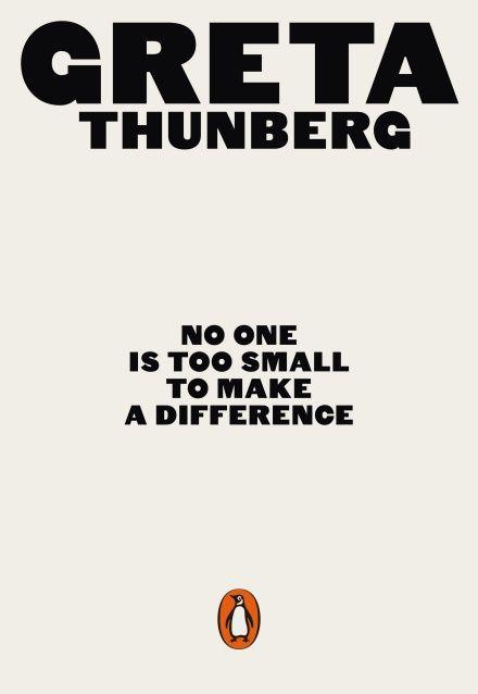 """Книжка Тунберг """"Ніхто не занадто малий, щоб щось змінити"""""""