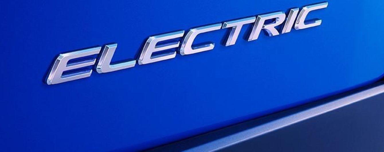 Lexus показав тизер серійного електрокара