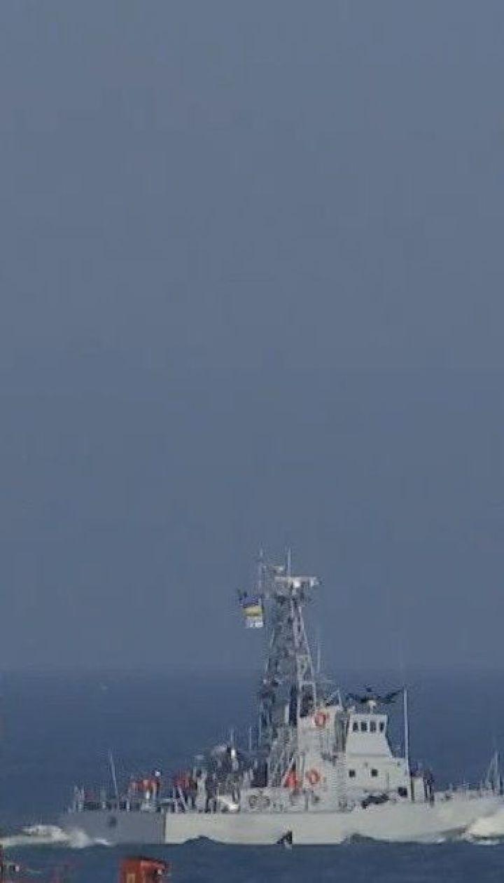 На Одещині у відкрите море на випробування вийшли два американські катери берегової охорони