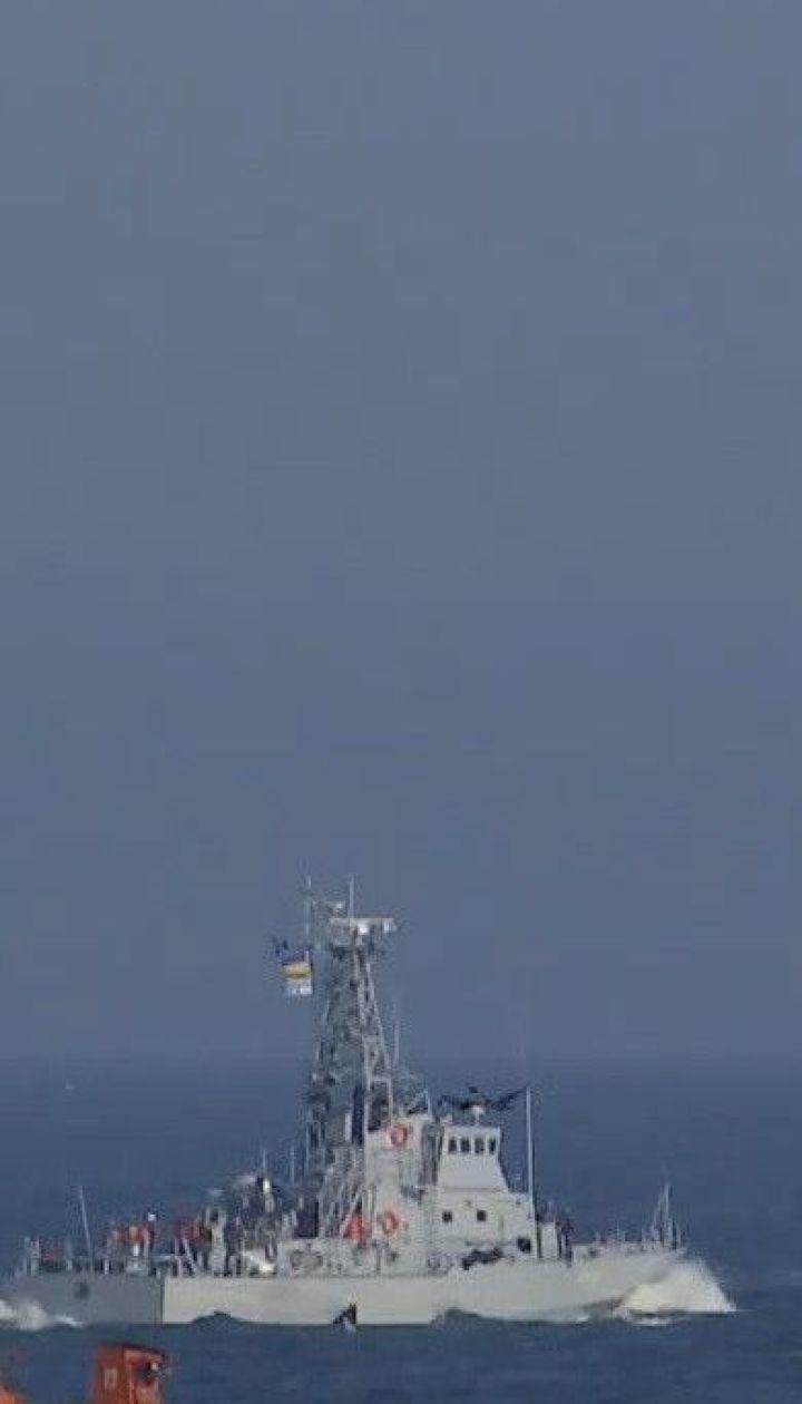 В Одесской области в открытое море на испытания вышли два американских катера береговой охраны