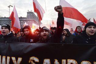У Польщі відбулася хода до Дня незалежності. Організатори заявляють про 150 тисяч учасників