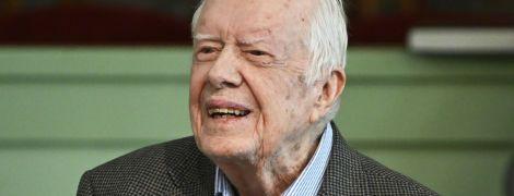 Старейший живой экс-президент США Джимми Картер попал в больницу
