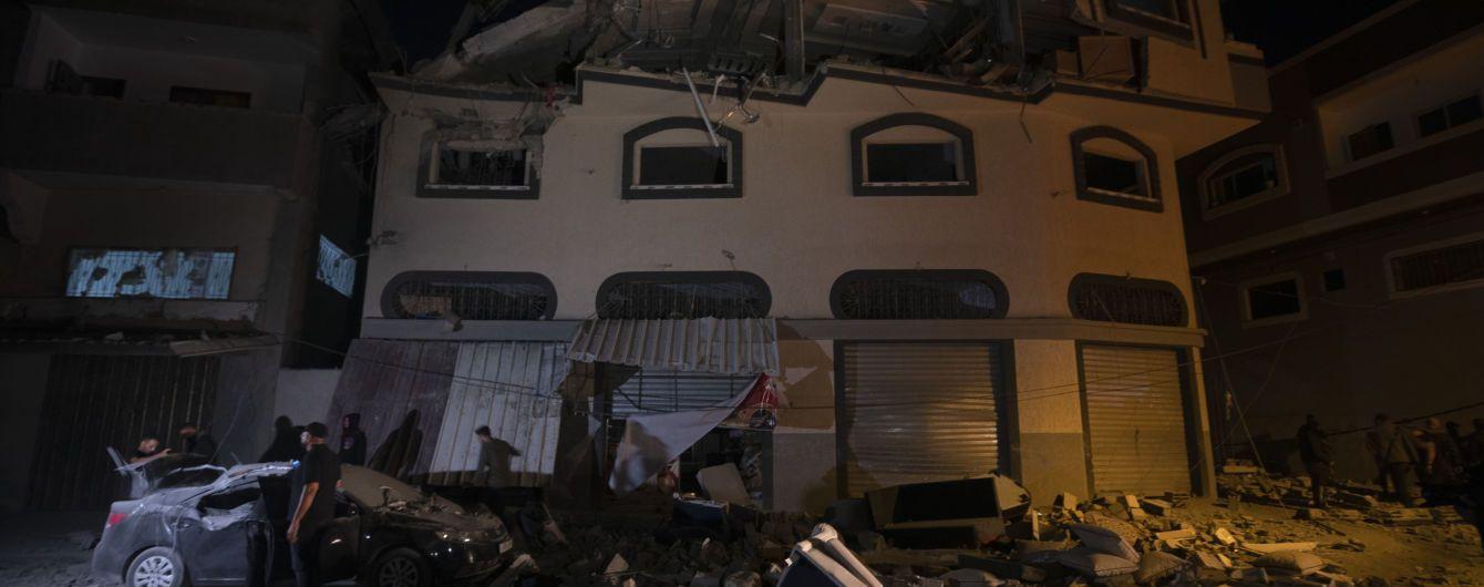 """Ізраїль під час авіаудару по Сектору Гази вбив командира """"Ісламського джихаду"""""""