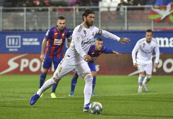 Рамос реалізує пенальті, Ейбар - Реал