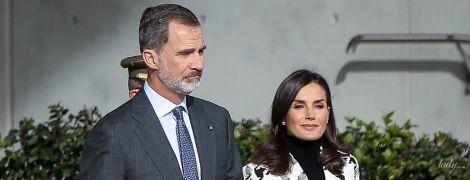Какая красивая: два аутфита королевы Летиции во время визита на Кубу