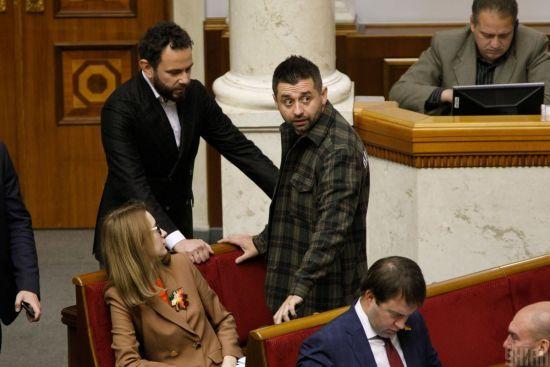 """Арахамія вважає, що Дубінський повинен зайнятися """"наведенням порядку в партії"""""""