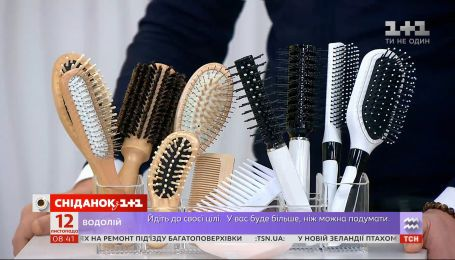 Как выбрать щетку или гребень для волос - эксперт Денис Прокопович