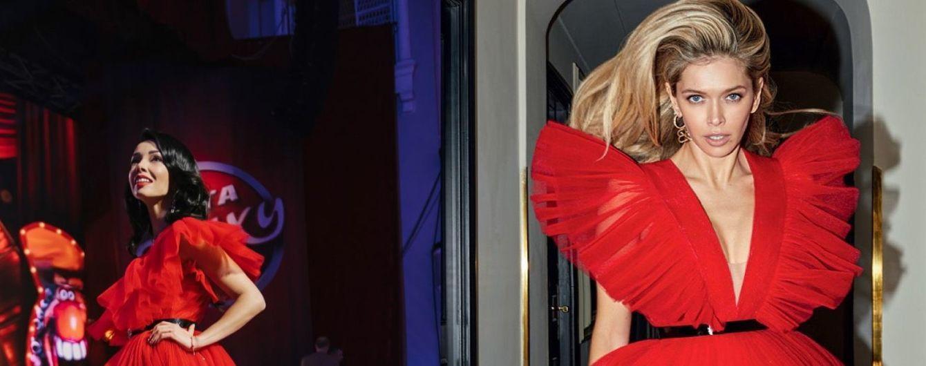 Битва красных платьев: Екатерина Кухар vs Вера Брежнева