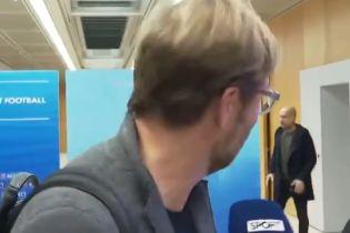 Клопп сбежал от Гвардиолы на встрече элитных тренеров УЕФА