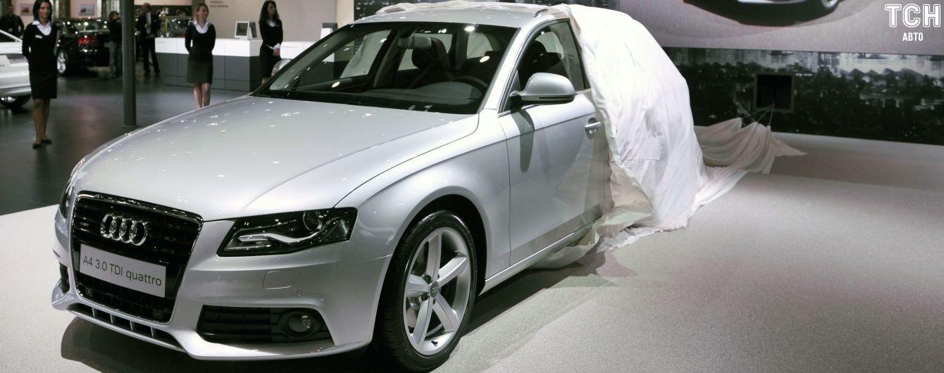 Audi відкликає 120 тисяч старих дизельних авто в Європі