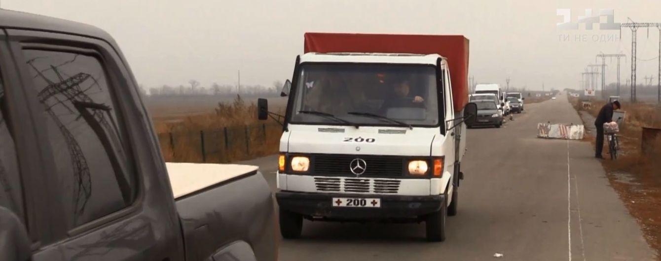 Донецькі бойовики віддали українським військовим тіло загадково померлого чоловіка