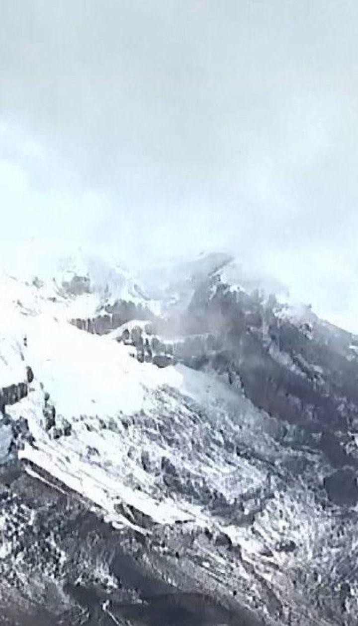 Климатические изменения: в Эквадоре стремительно тают два гигантских ледника