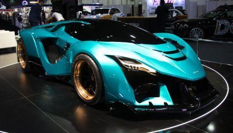 Эмиратский производитель представил мощный гиперкар-дракон