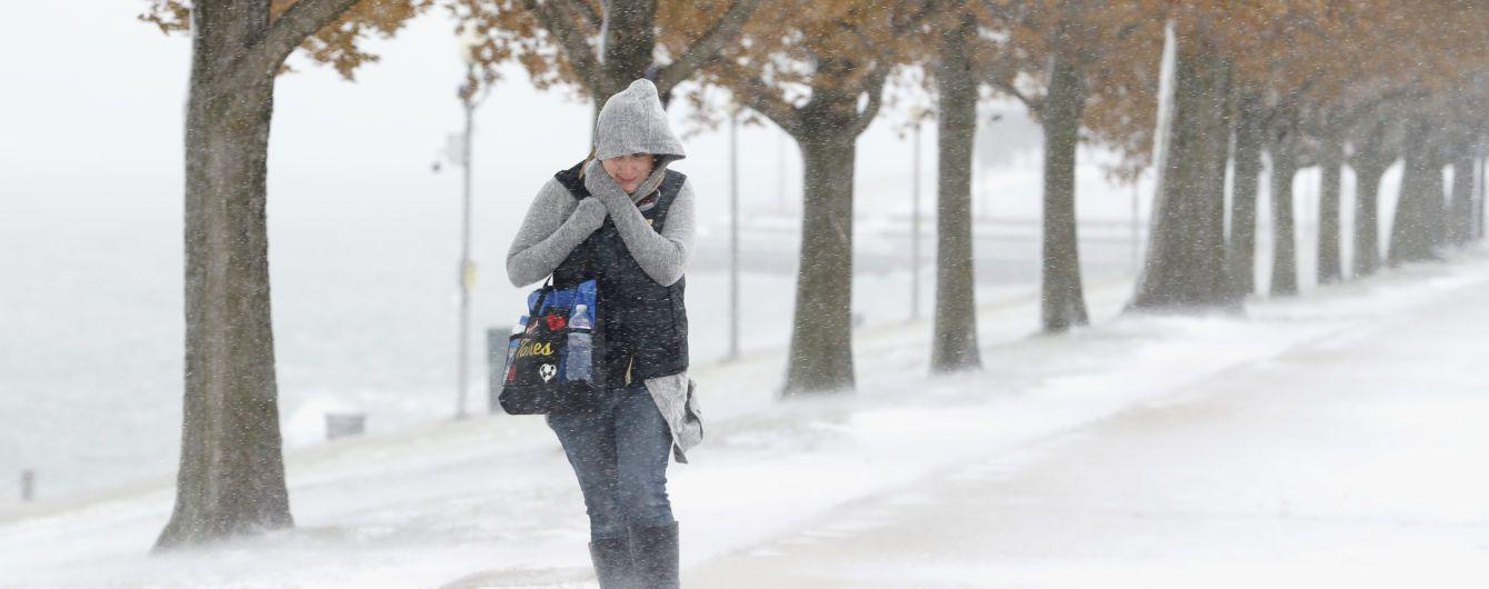 Рекордные морозы ударили в Штатах