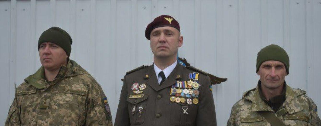 В больнице от полученных на Донбассе ранений умер командир 128-й бригады