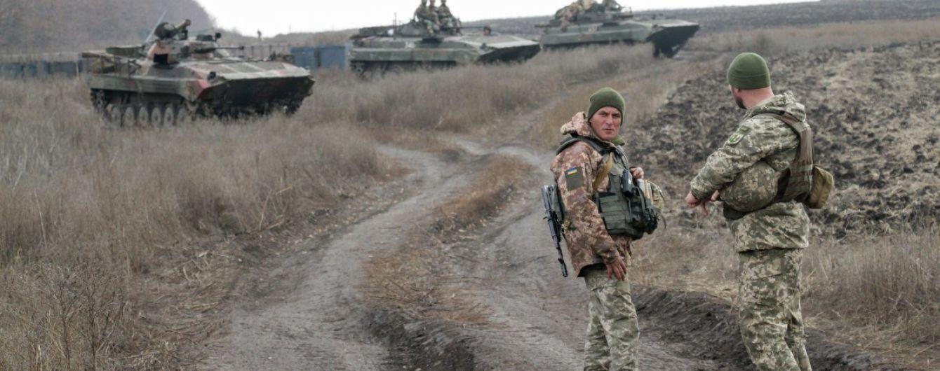 Біля Петрівського на Донбасі розпочали другий етап розведення військ