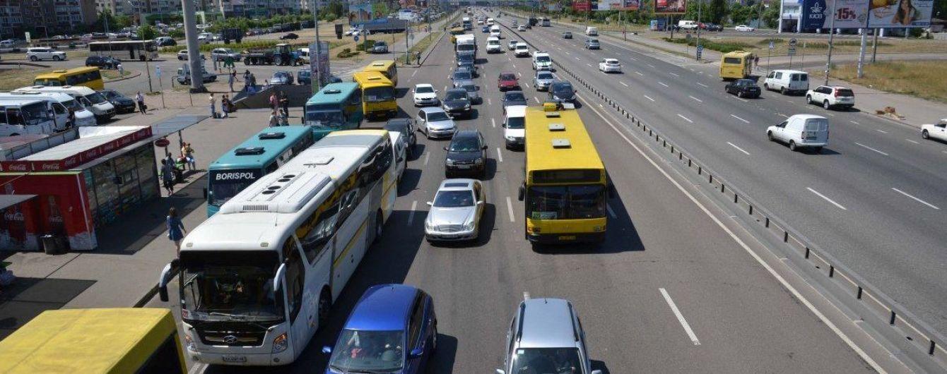 Названо місто в Україні, яке найбільше страждає від заторів