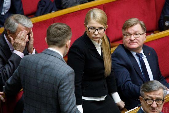 """""""Батьківщина"""" оголосила про перехід в опозицію до влади"""