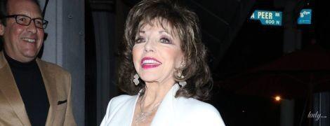 Ух, какая красавица: эффектная Джоан Коллинз в объективах папарацци