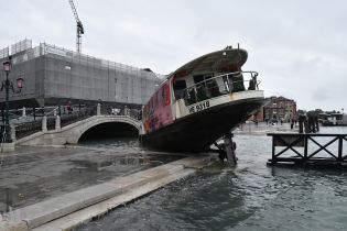В Венеции ввели чрезвычайное положение из-за крупнейшего за 50 лет наводнения