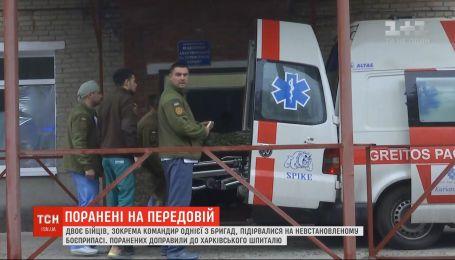 Двоє військових підірвались на Донбасі: в якому стані поранені бійці
