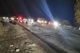 В ДТП на Закарпатье погибли два человека, пятеро госпитализированы
