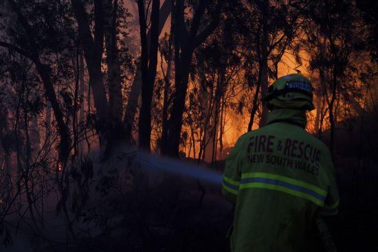 В Австралії не вщухають пожежі: жителів Канберри просять не виходити з будинків