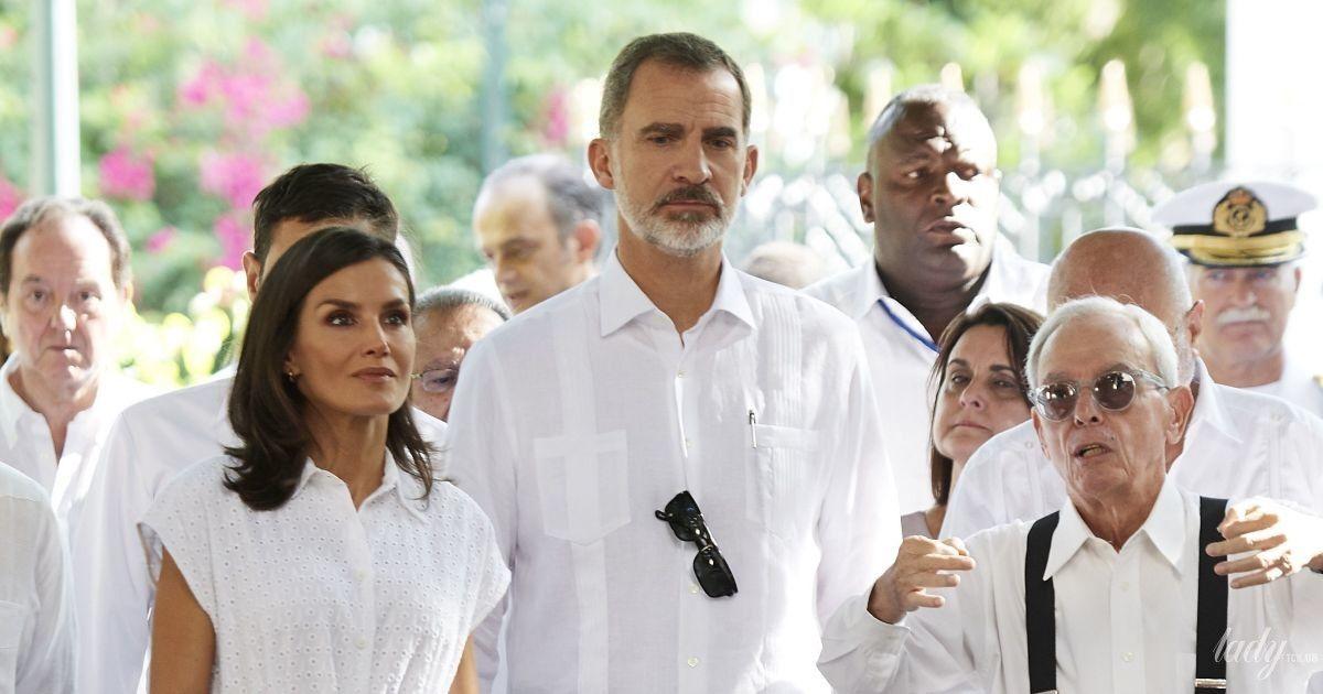 Іспанська королівська пара на Кубі: новий вихід королеви Летиції
