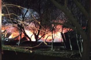 На Виннитчине в пожаре сгорело военное имущество на 10 миллионов гривен