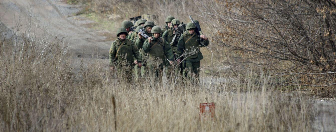 Российские наемники снова попытались прорвать линию столкновения на Донбассе