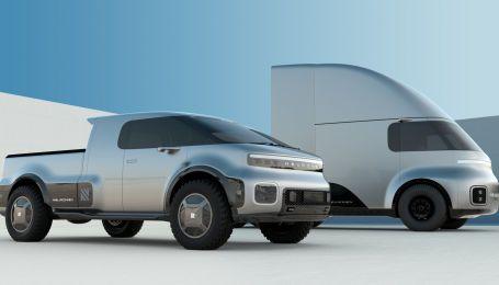 Стартап NeuronEV представил электрические пикап и фуру в духе Tesla