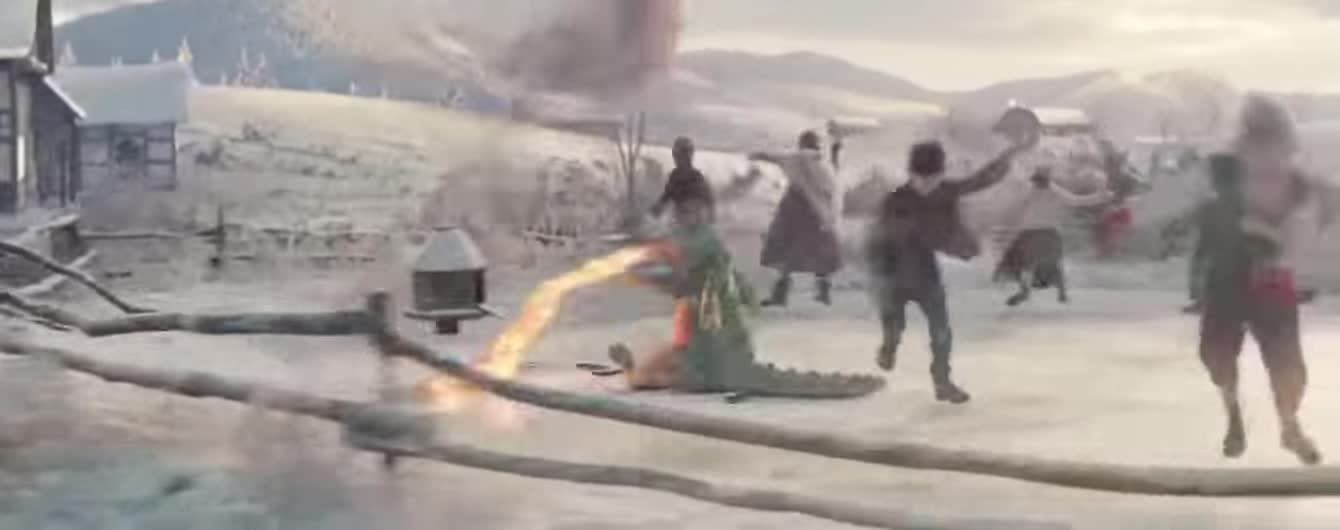 Різдвяні пригоди дракончика і його рудої подружки: британська компанія зворушила святковим роликом