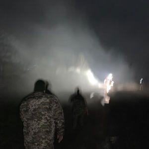 У ДБР підозрюють, що причиною пожежі у військовій частині могла бути диверсія