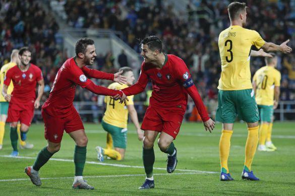 Португалія - Литва