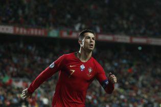 Хет-трик Роналду допоміг Португалії знищити Литву, динамівець Родрігес забив Сербії