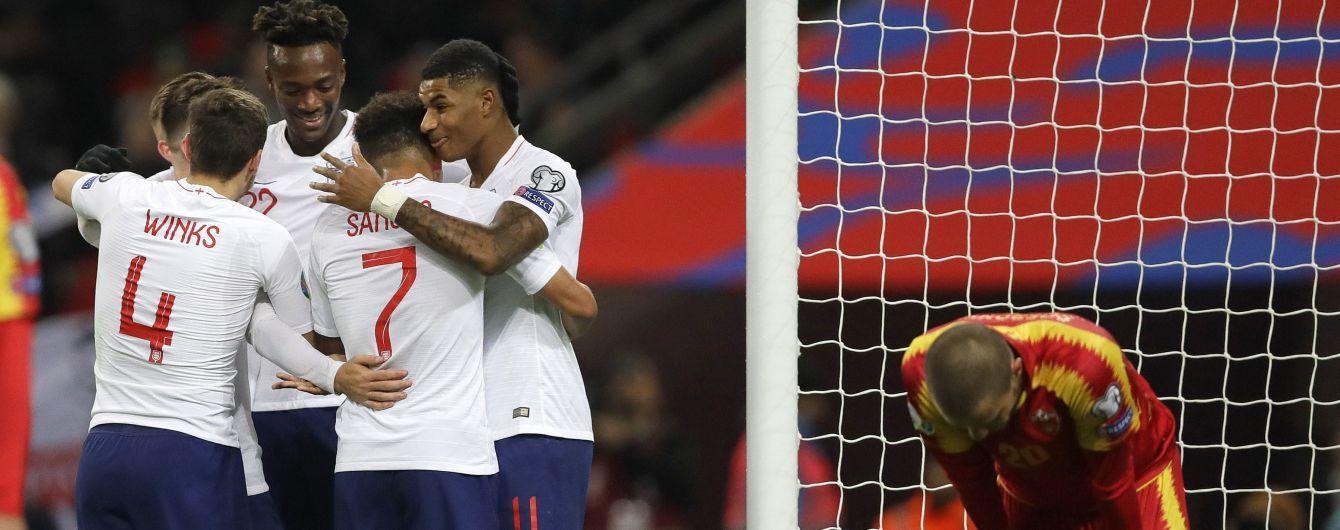 Англія познущалася з Чорногорії та оформила вихід на Євро-2020