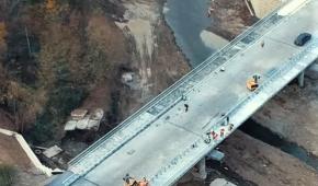 Новый важный мост в Косово показали на фото