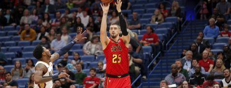 Украинский баскетболист провел феерический матч в НБА