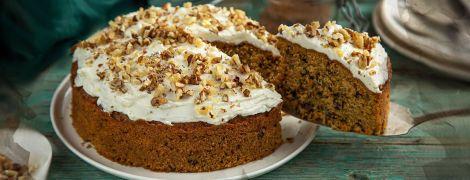Англійський морквяний пиріг