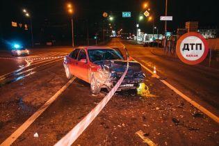 Пьяная компания устроила аварию в Киеве и пыталась сбежать